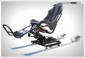 Tandem ski photo